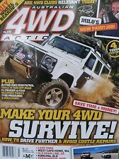Australian 4WD Action Magazine No 172 - Cape York - Old Ghan Line -Kinkuna