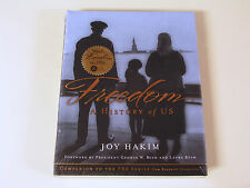 NEW - Freedom: A History of the US (Companion to PBS series) Joy Hakim HARDCOVER