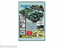 NOSTALGIA - TV21 COMIC BATMAN CORGI BATMOBILE TOYS ADVERT - JUMBO FRIDGE MAGNET