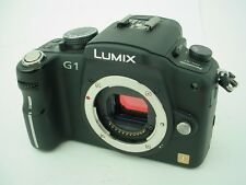 Panasonic LUMIX DMC-G1 12.1 MP Digital Camera - Black (Body Only)