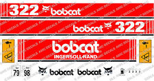 BOBCAT 322 MINI PELLE DECAL SET