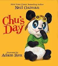Chu's Day Board Book by Neil Gaiman (2014, Hardcover)