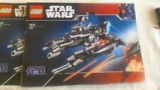 Lego Star Wars Very Rare Rogue Shadow - 7672 100% Complete