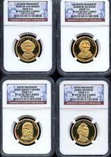 2008 S Presidential Dollar 4 Coin Proof Set NGC PF 69 Are $90 In NGC Price Guide