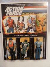 Action Force / GI Joe Naval Command Cutter, Wet Suit, Shipwreck, MOC, Carded