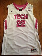 2015 Nike Virginia Tech Hokies Christian Beyer BCA Game Worn Basketball Jersey