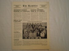 VINTAGE 1954 ERIE PA CATHEDRAL PREP THE RAMBLER HIGH SCHOOL NEWSPAPER