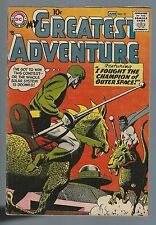 My Greatest Adventure 21 Jun 1958 10c Jack Kirby VINTAGE Outer Space age VG/F