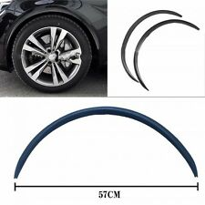 2pcs 57cm CARBON FIBER FENDER FLARES WHEEL LIP BODY KIT FOR UNIVERSAL CAR AUTO