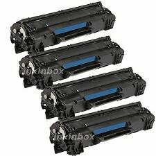 4pk New CE278A 78A Toner Cartridge For HP LaserJet P1606dn M1536dnf P1566