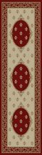 "2x8 (2'3"" x 7'7"") Runner Fleur de Lis Lys Red Area Rug **FREE SHIPPING**"