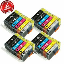 24 Pack PGI-225 CLI-226 ( w/Gray) Ink Cartridge For Canon PIXMA MG6120 MG6220