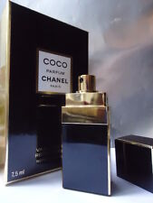 CHANEL COCO PARFUM 1/4oz 7.5ml STUNNING BLACK PURSE SPRAY NEW SEALED Nr MINT BOX