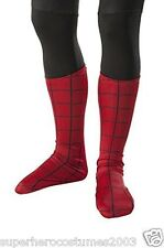 The Amazing Spider-Man 2 Child Deluxe Boot Covers Marvel Comics Red Rubies 35529