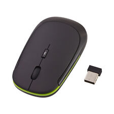 Nano 2.4G Wireless Optical Mouse with DPI Switch Black