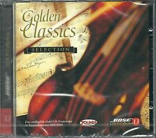 Golden Classics Selection Various 24 Karat Bose Zounds Gold CD Neu OVP Sealed 13