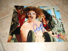 LMFAO RedFoo Sexy Signed Autographed 8x10  Photo PSA Guaranteed #1