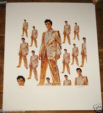 ELVIS PRESLEY 50 MILLION FANS LTD EDITION PRINT SIGNED & NUMBERED BY BOB JONES