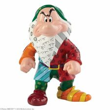 Disney by Britto Large Grumpy (Seven Dwarf) Figurine NEW in Gift Box - 24186
