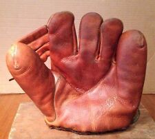BOB FELLER SPLIT FINGER JC HIGGINS  USA BASEBALL GLOVE NICE