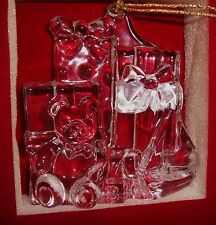 Waterford Marquis Crystal Ornament Christmas Tree Decoration Glass Bear No158131