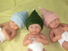 PRINTED INSTRUCTIONS -PREEMIE ,TINY & NEWBORN BABY LITTLE STAR CHRISTMAS HAT
