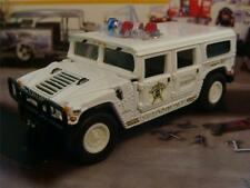 Sheriff Border Patrol Hummer H1 4WD 1/64 Scale Limited Edition H