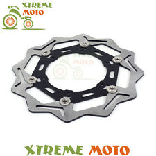 Black 270 Front Floating Brake Disc Rotor For Yamaha WR250F YZ250F YZ450F WR450F