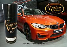 AEROSOL CAN OF BMW SAKHIR ORANGE. MOTORCYCLE, AUTOMOTIVE, HOT ROD, GUITAR, PPG