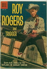 Dell Comic Roy Rogers #127 Photo Cover VGF