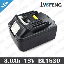 Replace Makita BL1830 18V 18Volt LXT Lithium Ion Battery Pack 3.0 AH NEW