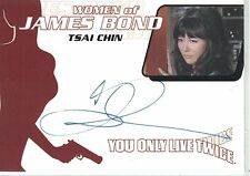 James Bond: WA35 Tsai Chin autograph