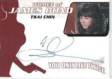 James Bond: WA35 Tsai Chin autograph
