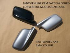 BMW 3 SERIES E46 COUPE OEM wing Mirror Cover PAINTED ANY BMW COLOUR 98- 06