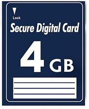 4gb Scheda SD 4 GB Secure Digital Scheda di memoria AUDI NAVIGATION PLUS RNS-E RADIO