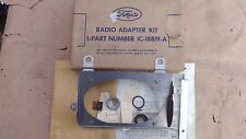 NOS 1951 Ford Truck RADIO ADAPTER KIT Original for installing car radio in truck