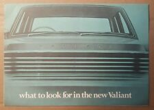 c 1967 Chrysler Valiant & Valiant VIP original sales brochure