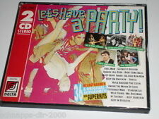 LET´S HAVE A PARTY 2 CD ´S LITTLE RICHARD SHOWADDYWADDY DEL SHANNON  F.R. DAVID