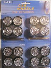 CAR WHEELS FOR REPAIRING ADD ON CUSTOM  1:18 CARS 4 sets item #2006A