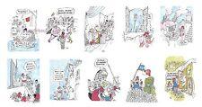 50 CPM 1989 - LIBERTE EGALITE HILARITE  dessins de CABU  LOUP SINE - DESCLOZEAUX
