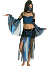 Meannie Genie Harem Girl Sexy Belly Dancer Adult Costume 12-14