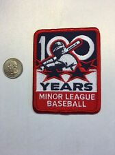 Official Minor League Baseball MLB 100th Anniversary Commemorative Patch