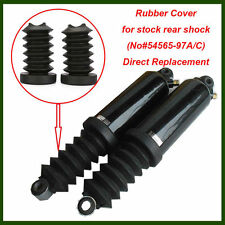 Rubber Fork Cover Gaiter Gator Boot For 97-13 Harley Touring Rear Shock Absorber