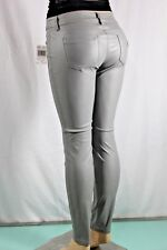 100% AUTHENTIC NEW WOMENS GUESS JEAN EMMA FIT MID RISE ANKLE SKINNY SZ 29 GRAY