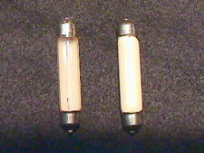 New Old Stock Bulbs ORIGINAL Dial Lamps Fisher 400, 500-C, 800-C  Tube Receivers