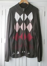 mens FRED PERRY CARDIGAN SIZE XL