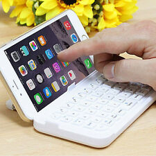 Hot Wireless Mini Bluetooth Keyboard Case Cover For Apple Iphone6 Plus White