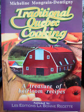TRADITIONAL QUEBEC COOKING COOKBOOK SPIRAL BOUND CANADA COOK BOOK CANADIAN