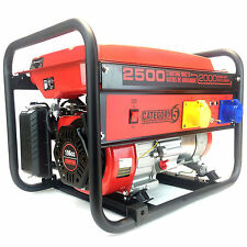 3kVA 6.5HP Portable Petrol Generator - Powered By Champion - 3 Year Warranty