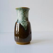 Vase allemande en céramique verte vintage années 50 60 70 design 1970 pop 1950